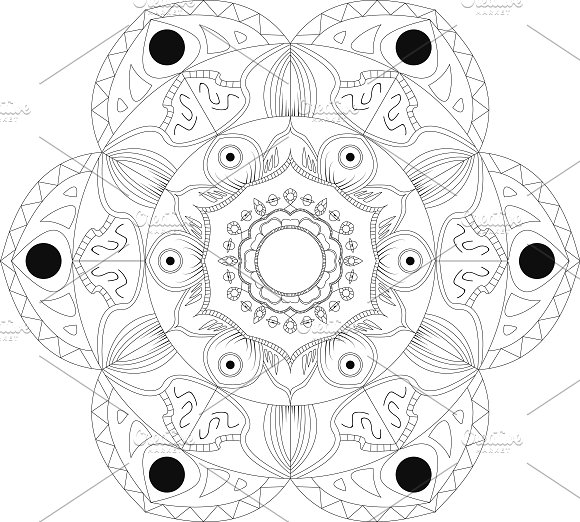 Mandala Art Abstract