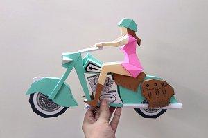 DIY Bike with Rider