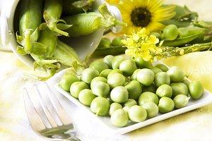 green peas dish