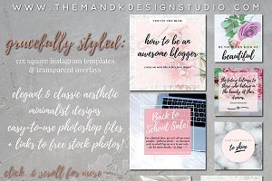 Fashion & Lifestyle Insta Templates