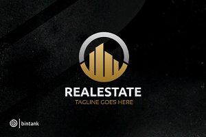 Circle House - Real Estate Logo