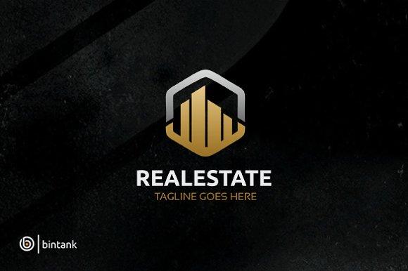 Hexa House Real Estate Logo