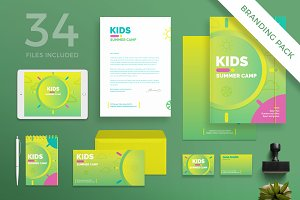 Branding Pack | Summer Camp