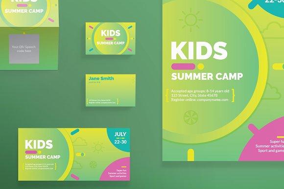 Print Pack   Summer Camp