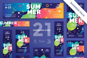 Banners Pack | Summer Camp