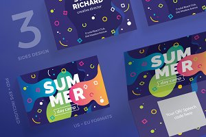 Business Cards | Summer Camp