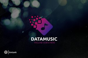 Data Music Logo