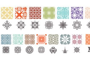 Propaganda Patterns Vector Pack