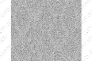 Abstract seamless arabic pattern