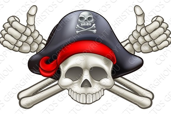 Skull And Crossbones Pirate