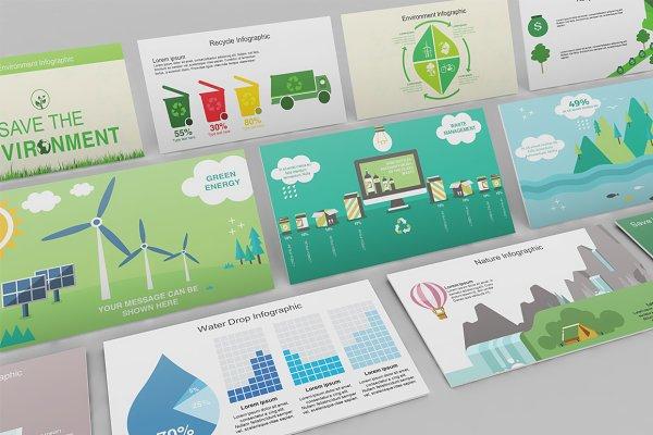 Mega Environment PowerPoint Pack
