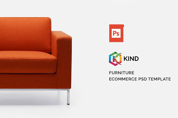 Kind Furniture Home PSD Template