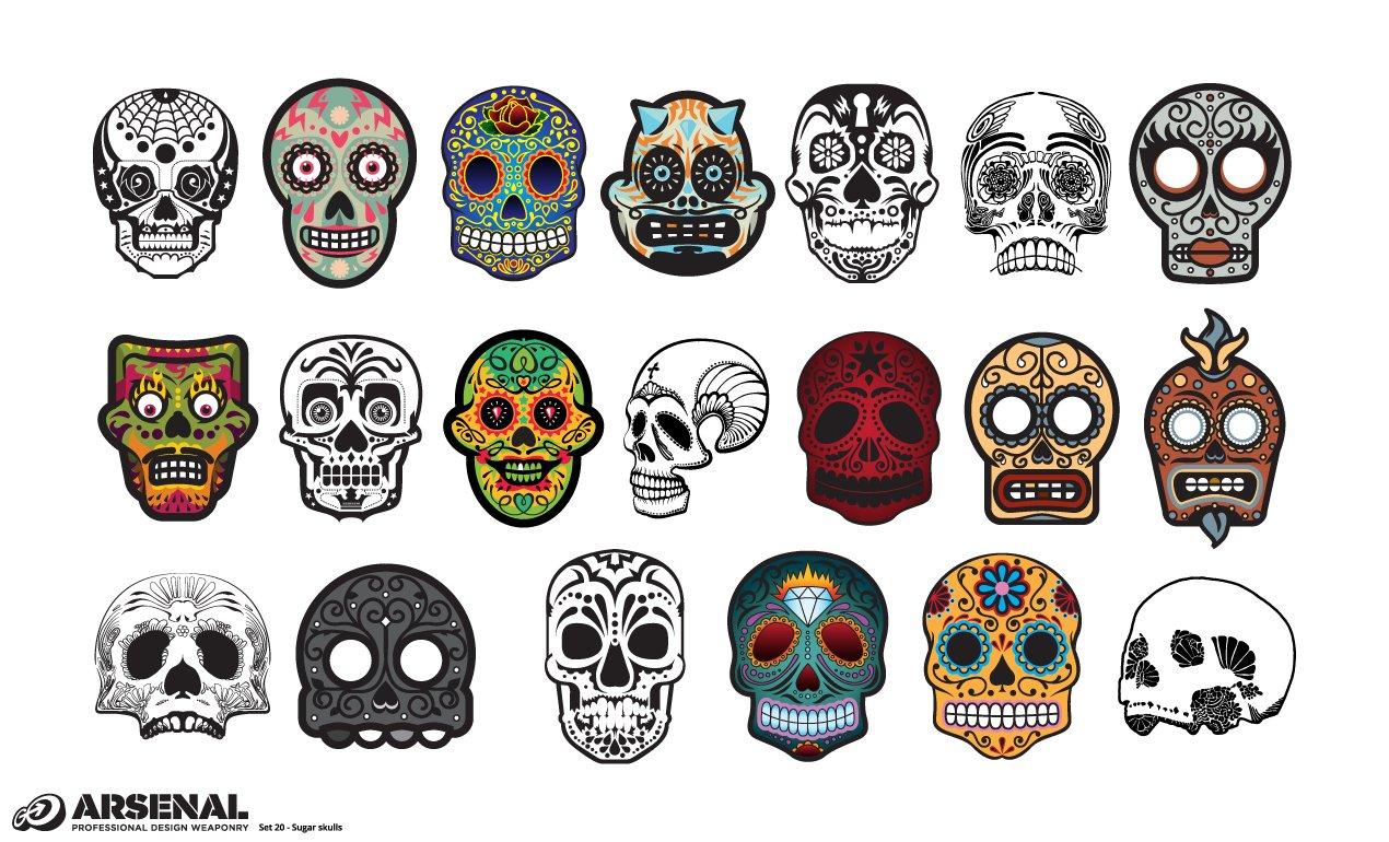 Sugar skull Photos, Graphics, Fonts, Themes, Templates ~ Creative Market