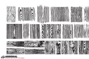 Wood Texture Vector Pack