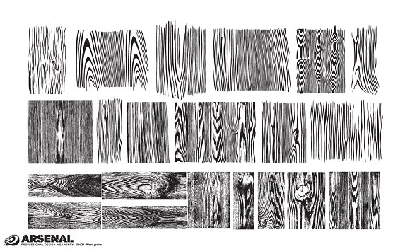 Wood Texture Vector Pack Illustrations Creative Market