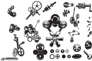 Gears Vector Pack