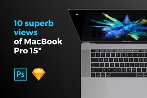 10 superb views of MacBook Pro 15
