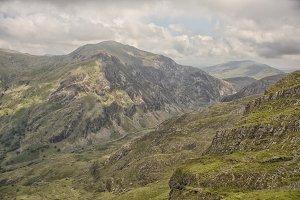 Mount Snowdon landscape