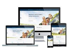 ET Insurance – Insurance Joomla