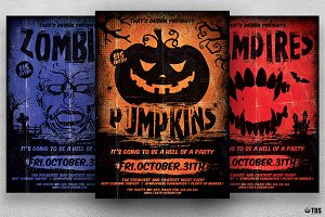 Halloween Flyer Template V4