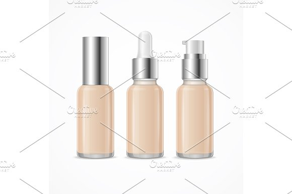 Foundation Cream Tube Package