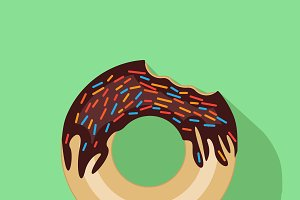 Donut vector art