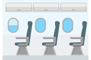Airplane Transport Interior