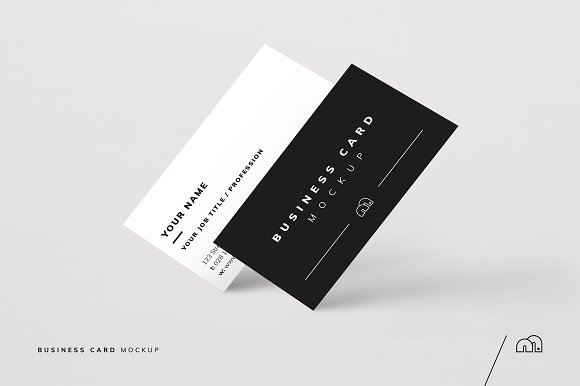 Business Card Mockup Product Mockups Creative Market