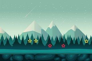 Cartoon Forest Background II