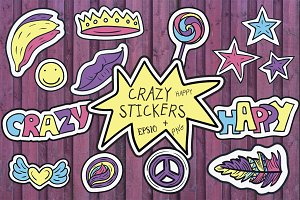 Crazy Stickers