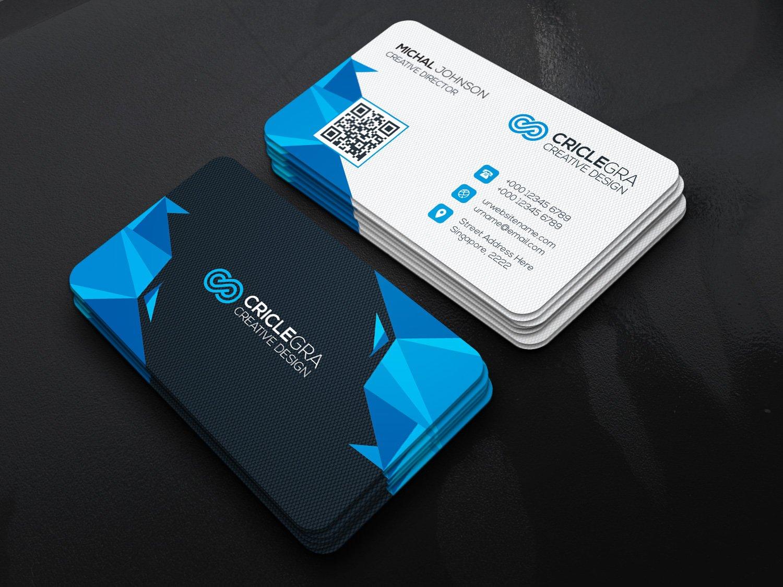 J u n i p e r business card template business card templates modern business card magicingreecefo Images
