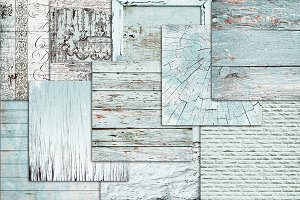 Shabby distressed white wood texture