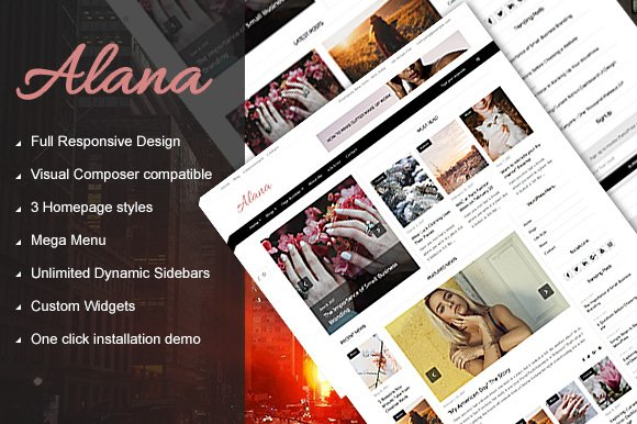 Alana - Magazine WordPress Theme