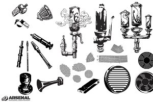 Whistles & Vents Vector Pack