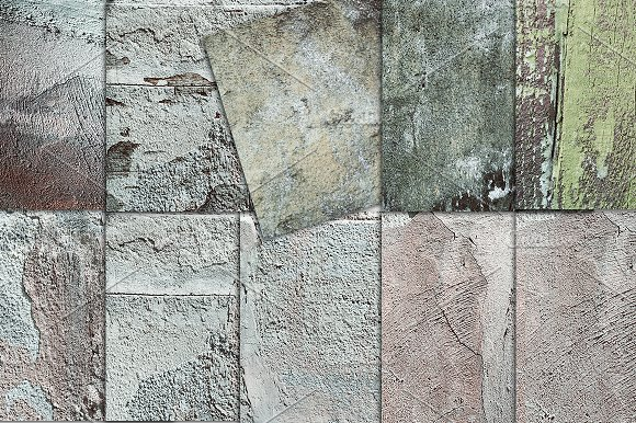 Concrete Wall Distressed Textures