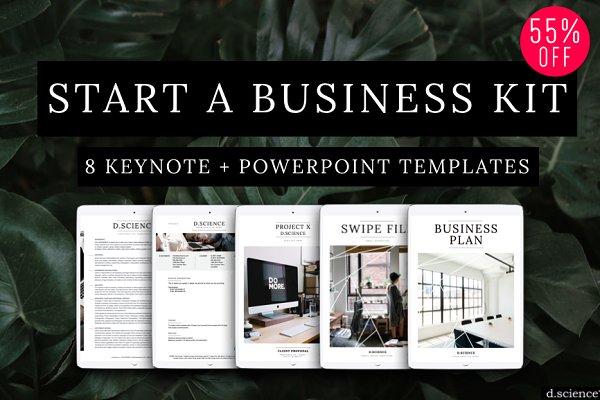 8 Branding Template Kit