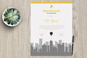 Certificate vm3