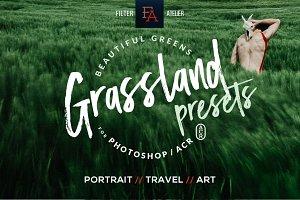 Grassland ACR Photoshop Presets