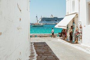 Greece Alleyway 2