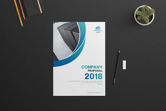 Company Profile Brochure 18 Pages