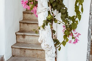 Stairwell in Greece