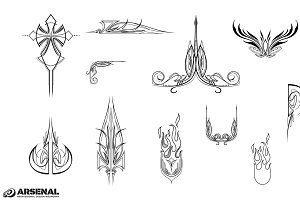 Tribal Vector Pack 2