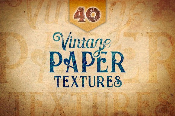 40 Vintage Paper Textures