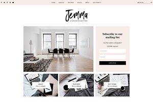 Jemma Responsive Blogger Template