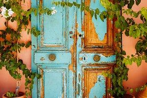 Door in Greece 3