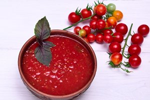 soup of tomato gazpacho