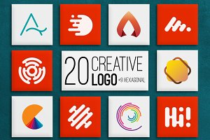 20 Creative Logo VOL.1 (94%OFF)