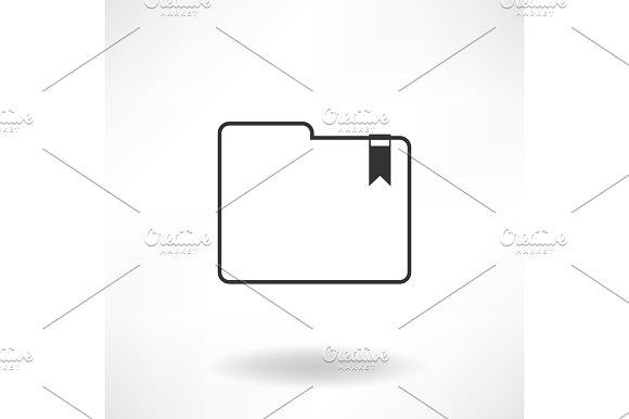 Folder Simple Icon