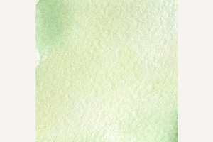 Watercolor light green paper texture