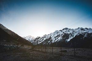 Nepali Mountain Sunrise